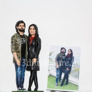 Personalized 3D Miniature For Couple 8 inche