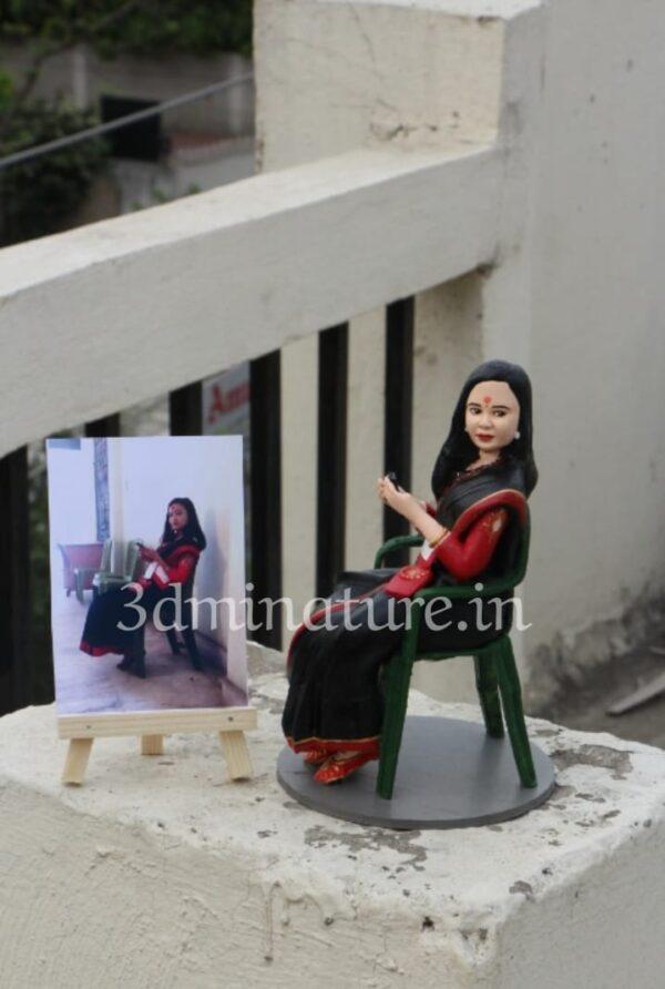 single 3d miniature